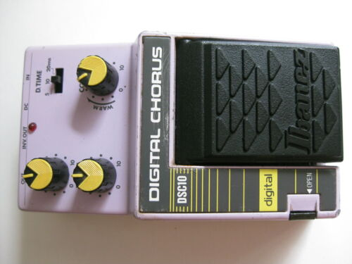 Vintage Ibanez DSC10 Digital Chorus Guitar Effect Pedal japan