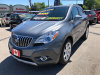 2014 Buick Encore Premium AWD LOADED..ONLY 46,000 LOW KMS..MINT
