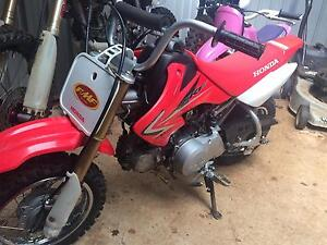 2010 crf 50 motorbike Deloraine Meander Valley Preview