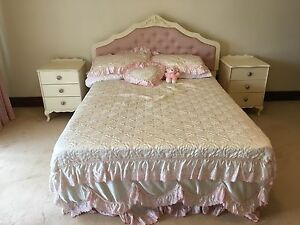 Double bed base and bed head Hunters Hill Hunters Hill Area Preview