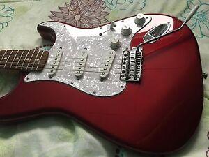 Fender MIM Strat - upgraded P/U