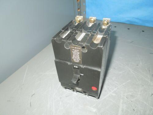 Ge Tey315 15a 3p 480v Circuit Breaker Used