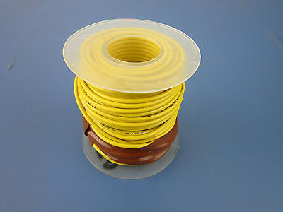 Spool Of 18awg Wire 40ftlg Color Yellow