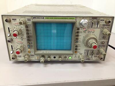 Vintage Leader Lbo-518 Portable Benchtop 100mhz 4-channel Oscilloscope Unit