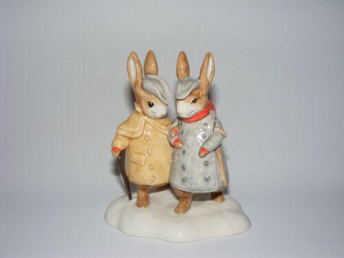 Beswick RARE Beatrix Potter figurine TWO GENTLEMEN RABBITS