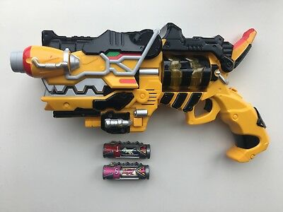 Power Rangers Kyoryuger Set Gabu Revolver Gun Morpher Dino Charge 2 pcs JAPAN - Power Ranger Toy Gun