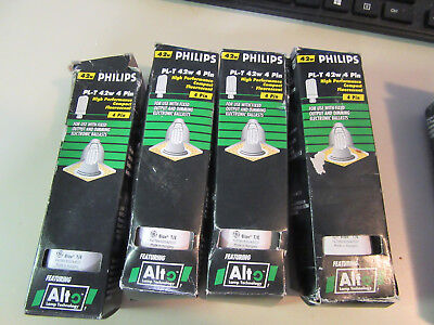 42w Compact Fluorescent Lamp - 4PC. PHILIPS 42W Biax 4-Pin ECO Compact Fluorescent Lamp Bulb F42TBX/835/A/ECO