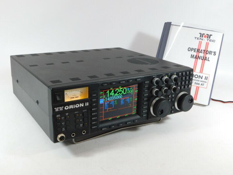Ten-Tec Orion II 566-AT Ham Radio Transceiver w/ Manual (works beautifully)