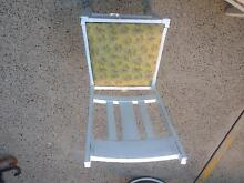 White antique deck chairs Eastwood Ryde Area Preview