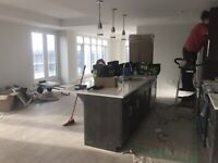 Professional Residential and Detailed construction cleaning