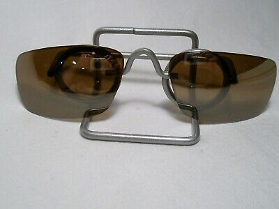 New Original Oakley Square Wire Brown Polarized Sunglass Replacement Lens  ok2c, used for sale  Shipping to India