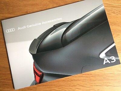 Audi A3 Accessories Brochure 2017 - 2018 MY