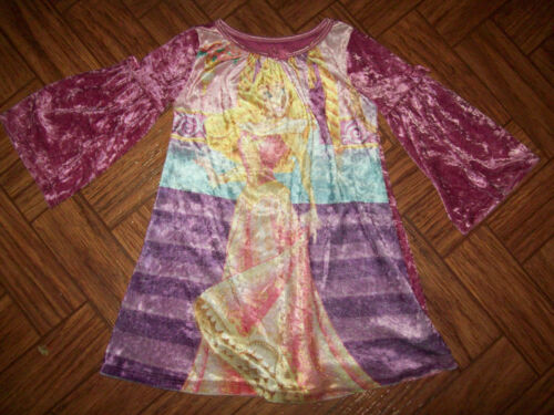 Disney Store Princess Aurora nightgown girls size 2 3 Longsleeve Sleeping Beauty
