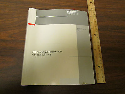 Hp Standard Instrument Control Library For Hp-ux Manual E2091-90007