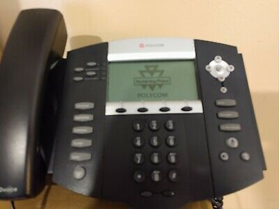 Polycom Soundpoint Ip550 Voip Digital Telephone With Cord