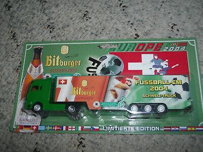 Brauerei Bitburger alkoholfrei MAN Schweiz Truck Fußball EM 2004 1:87