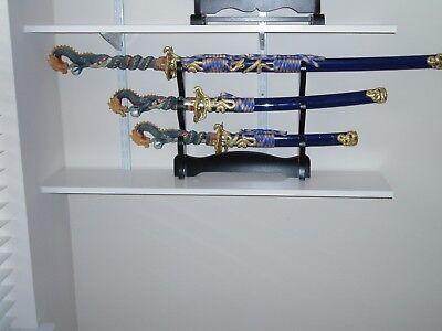Daisho Set - 3 piece swords and stand