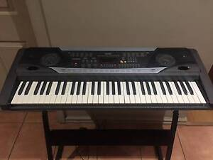Base 61 Key Electronic Digital Keyboard with Stand West Lakes Charles Sturt Area Preview