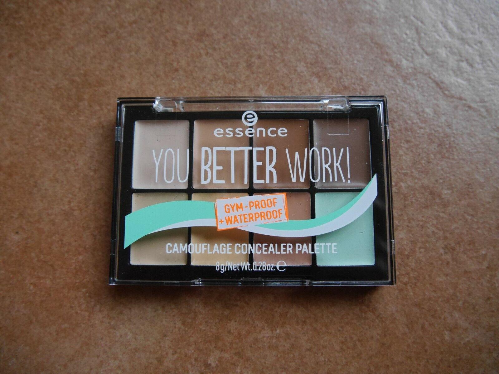 Essence You better work! Camouflage Concealer Palette Antiredness 8gr. neu