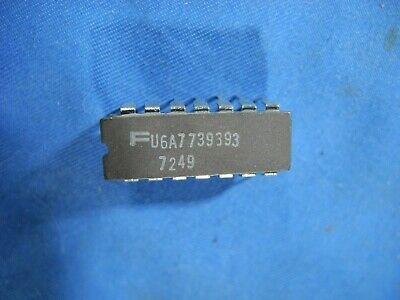 U6a7739393 Fsc Lm739j Ua739dc 14-pin Cerdip Vintage 1970 Rare New