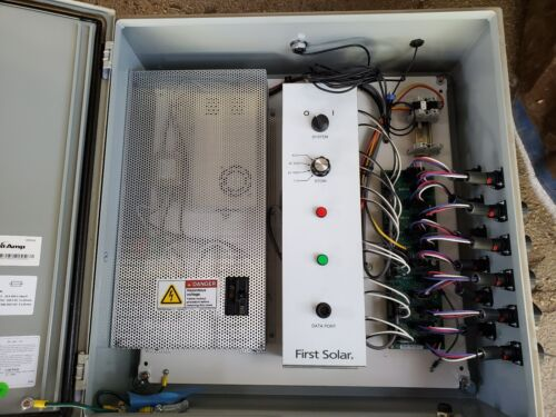 First Solar FSTC401 Control Panel, combiner box