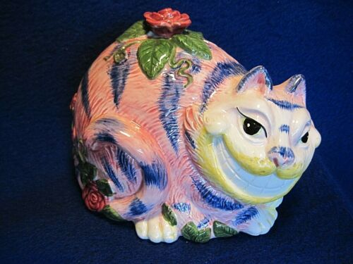Fitz & Floyd 1992 Cheshire Cat Bank - Perfect Condition!