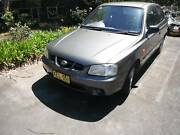 HYUNDAI Accent 2000 model 124,500km's East Kurrajong Hawkesbury Area Preview