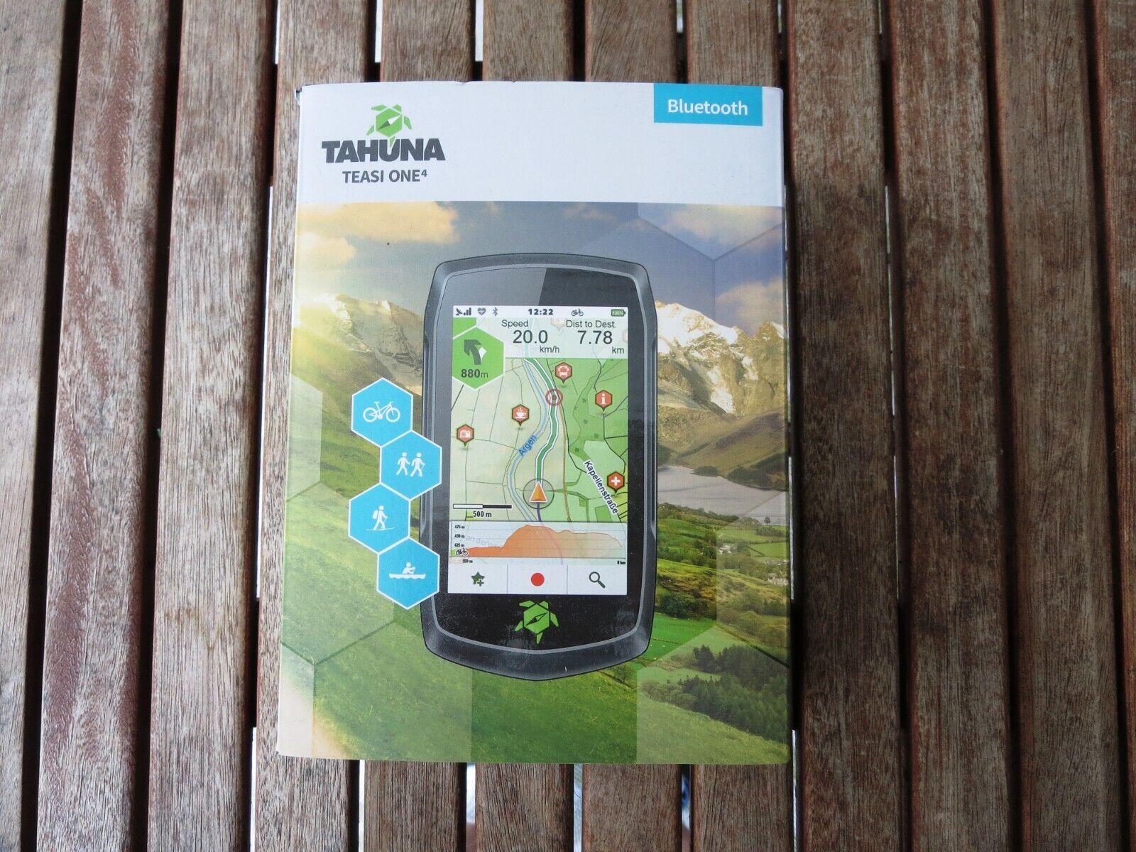 TEASI ONE 4 Bluetooth GPS Fahrrad Navigationsgerät - neu