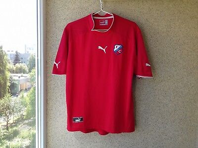 FC Utrecht Home football shirt 2003/2004 Jersey Soccer 2XL Camiseta Soccer OLD  image