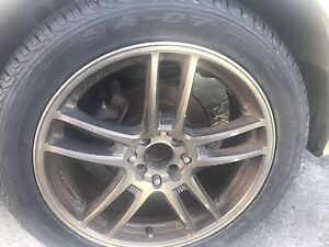 "17"" Mag wheels with 4 tyres Sunnybank Brisbane South West Preview"