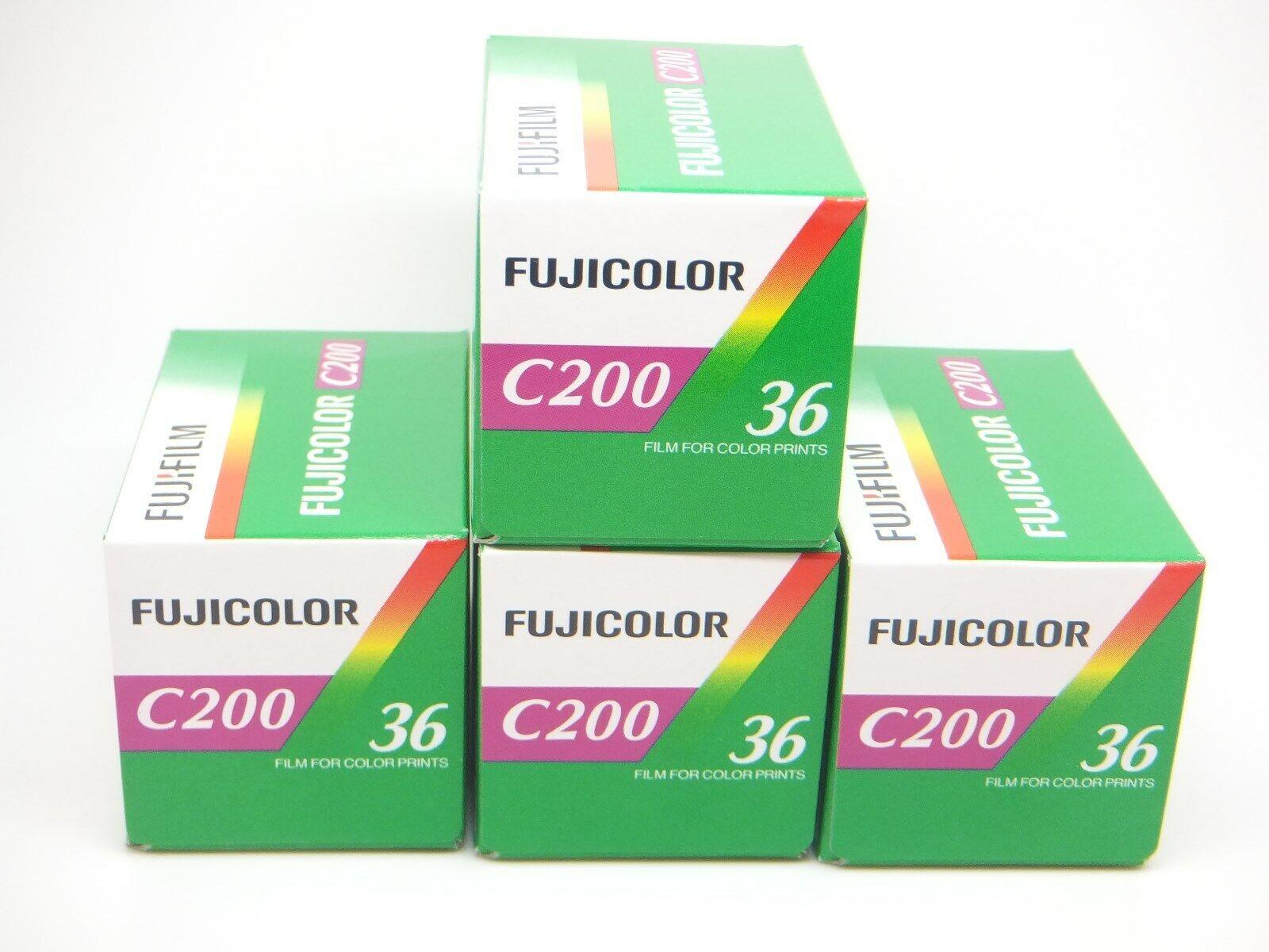 Fuji Fujicolor C200 35 mm 36exp película de impresión de color Barato-Paquete de 5