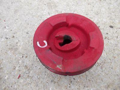 Farmall C Sc Super Tractor Ih Ihc Engine Motor Crankshaft Main Front Belt Pulley