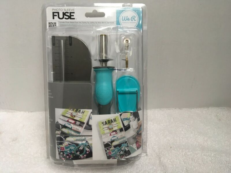 Fuse Photo Sleeve Kit ncludes Photo Sleeve, Fuse Tool, Fusing Cutting Tip Ruler