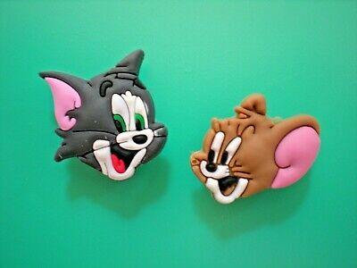Tom And Jerry For Kids (Clog Shoe Charm Tom Jerry For Jibbitz  Bracelet Lace Adapter For Croc)