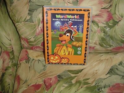 WordWorld: Kooky Spooky Halloween (DVD, 2010) Bonus: Monster Mker Music Vedio - Word World Spooky Halloween