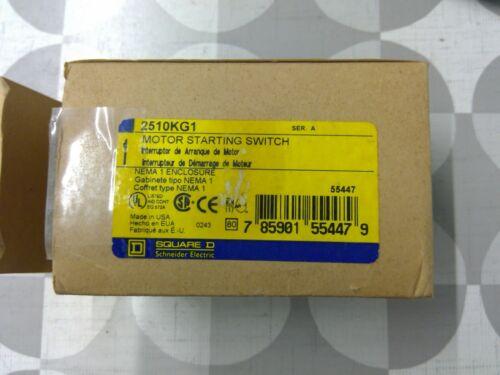 Square D 2510KG1 30A 600V NEMA 1 Motor Starting Switch **Free Shipping**