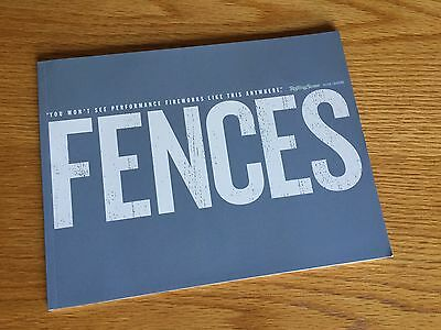 """""""Fences"""" Academy Awards For Your Consideration Press Book Promotional Booklet"""