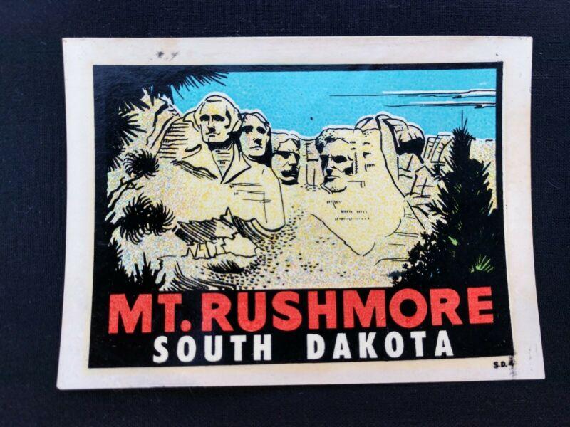 Mt Rushmore National Park, South Dakota 1950