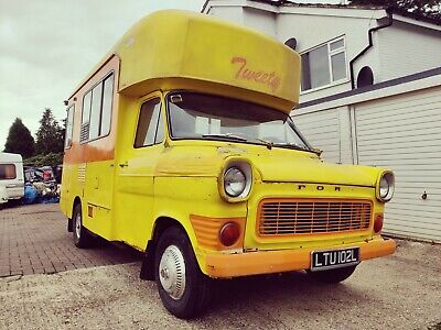 Mk1 Ford Transit LHD Left Classic Camper Campervan Catering Motorhome Project