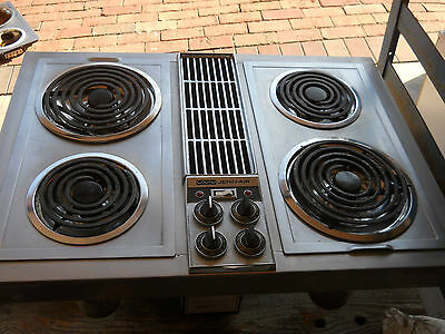 cooktop downdraft electric 36