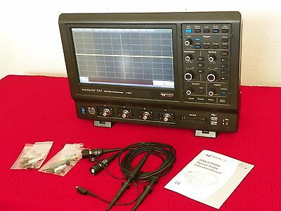 Lecroy Wavesurfer Ws 3054 Benchtop Oscilloscope W2 Of Pp018 Probe Kits Mint