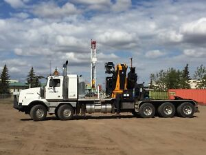 2007 Western Star 4900SA With 38 Ton Effer 750 8S Knuckle Boom
