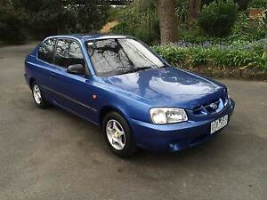 2002 HYUNDAI ACCENT RELIABLE VERY CLEAN  WITH RWC&REGISTRATION Melbourne CBD Melbourne City Preview