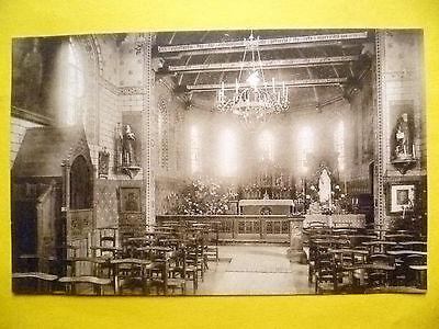 Postcard- Belgium, Ghistel- VUE INTERIEURE DE L'EGLISE DU PRIEURE