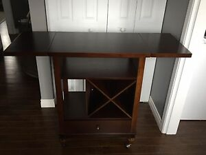 Small Moveable Kitchen Island / Cart