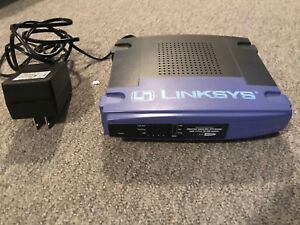 Linksys Etherfast Cable DSL Router with 4 10 100 mbps ports
