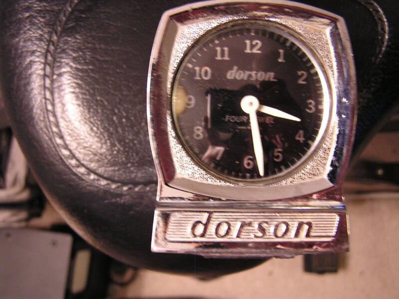 Vintage Dorson Timer Clock