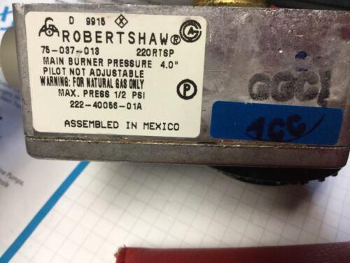 "75-037-013 220RTSP 222-40056-01 BRADFORD/ROBERTSHAW 110-202 1-3/8"" Shank Gas W/H"