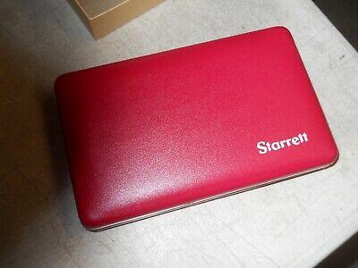 Starrett 912 Micrometer Case. Fits 22m5851212 Mics. Case Only New In Box