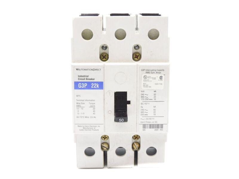 AUTOMATION DIRECT G3P22K 50A 480VAC UNMP